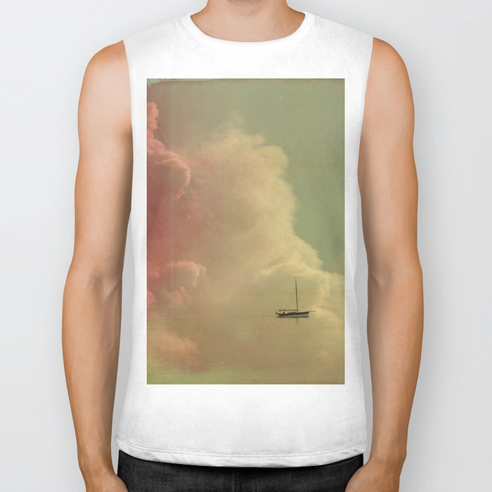 Once Upon a Time a Little Boat Biker Tank