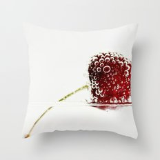 Cheery Cherry Throw Pillow