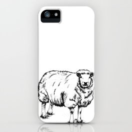 Sheep Sheep. iPhone Case