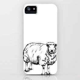 Sheep Sheep. iPhone Case