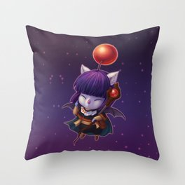 Mazoku Mog Throw Pillow