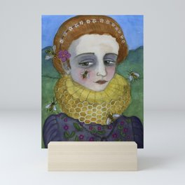 The Queen of the Bees, The Earth Elements series Mini Art Print