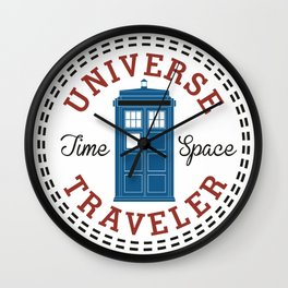 Doctor Who Converse Time Traveller Wall Clock