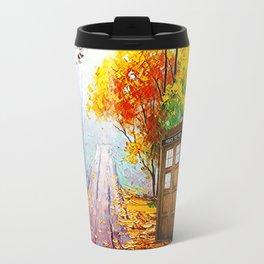 Tardis Alone Travel Mug
