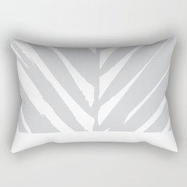 Tropical Grey Palm #society6 #decor #buyart Rectangular Pillow