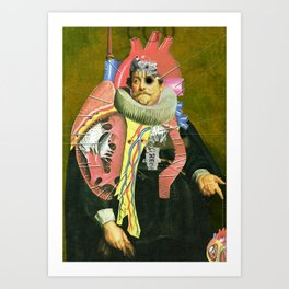 Another Portrait Disaster · van Dyck Art Print