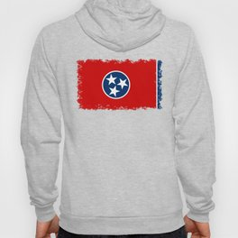 Flag of Tennessee - Authentic High Quality Image Hoody