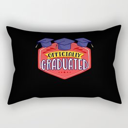 Official Graduated Doctor Hat Doctorate Promotion Rectangular Pillow