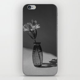 Shadow and flower iPhone Skin