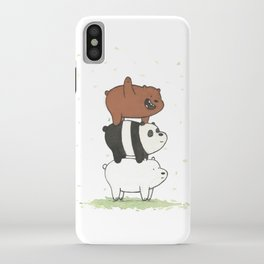 We Bare Bears by Maria Piedra iPhone Case