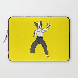 Kungfu Bulldog Lee Laptop Sleeve