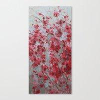 sakura Canvas Prints featuring Sakura by Ann Marie Coolick