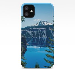 Crater Lake // Incredible National Park Views of the Dark Blue Waters Sky and Mountains through the iPhone Case
