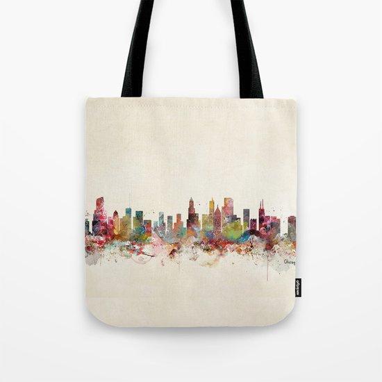 chicago illinois Tote Bag