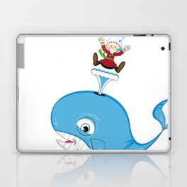 Jonah and the Whale Laptop & iPad Skin