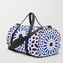 -A18- Original Traditional Moroccan Tile Design. Duffle Bag