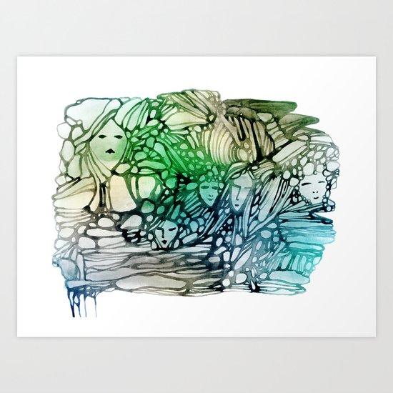 Dryads Art Print