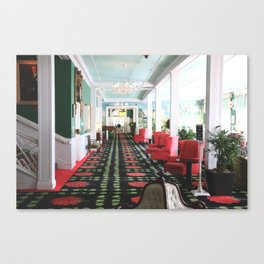 inside the Grand Hotel Canvas Print