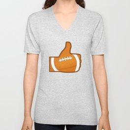 I Like Football 2.0 Unisex V-Neck