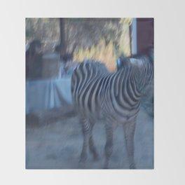 the zebra of my dreams Throw Blanket