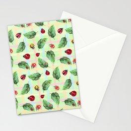 ladybugs Stationery Cards