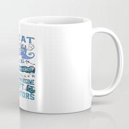 Forklift Operator Woman Coffee Mug