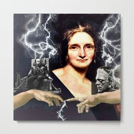 Mary Shelley Metal Print