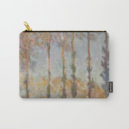 Claude Monet, French, 1840-1926  Poplars on the Bank of the Epte River Carry-All Pouch