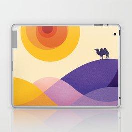 Sun, Desert, Waves of Sand and Camel Laptop & iPad Skin