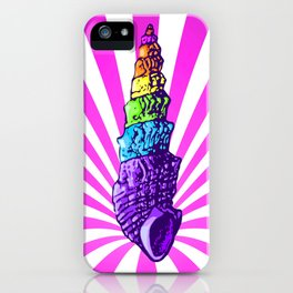 Unicorns are real, evidence ed. iPhone Case