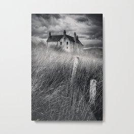 Mystery Mansion Metal Print