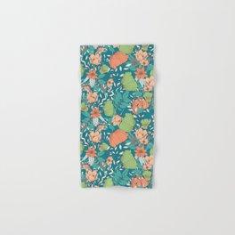 Botanical pattern 012 Hand & Bath Towel