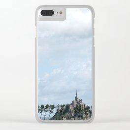 Le Mont Saint Michel 8 Clear iPhone Case