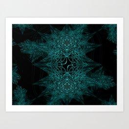 Star Weeds Art Print