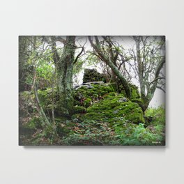 The Forgotten Cairn Metal Print