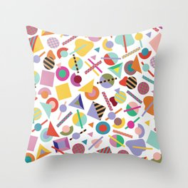 Less is a Bore Summer Throw Pillow