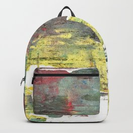 Wenge abstract watercolor Backpack