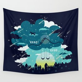 Stars and Constellations Wall Tapestry