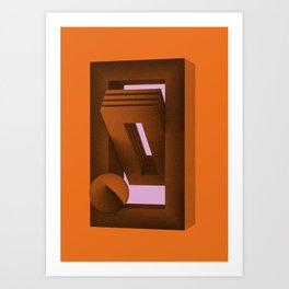 Grains - Five Art Print