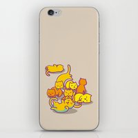 cats iPhone & iPod Skins featuring cats ! by parisian samurai studio