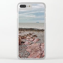 Steep Holm Bristol Channel Clear iPhone Case