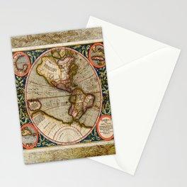 Western Hemisphere Michael Mercator America Stationery Cards