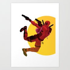 Who said chimichanga Art Print