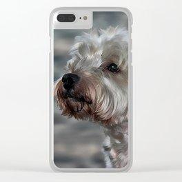 Westie Love Clear iPhone Case