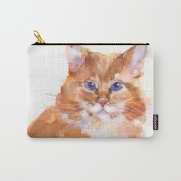 Tiger Rose Carry-All Pouch
