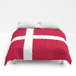 The flag of danmark Comforters