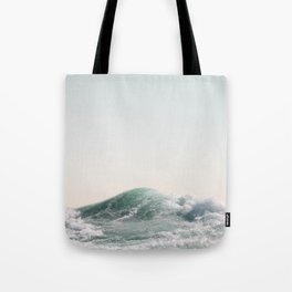 Waves and Sunrise Happy Summer Photography Ocean Beach Vibes Tropical Water Sea Tote Bag