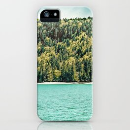 Lake Side #nature #photography iPhone Case