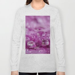 Drops in feathers Long Sleeve T-shirt