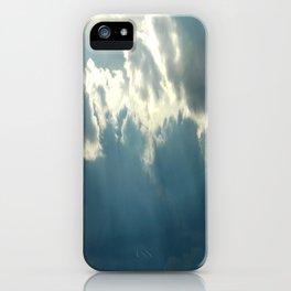 Streaks In The Clouds iPhone Case